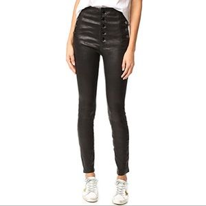 J Brand Leather Natasha pants
